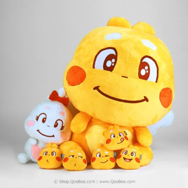QooBee and Jeanie Plush Toy Collection
