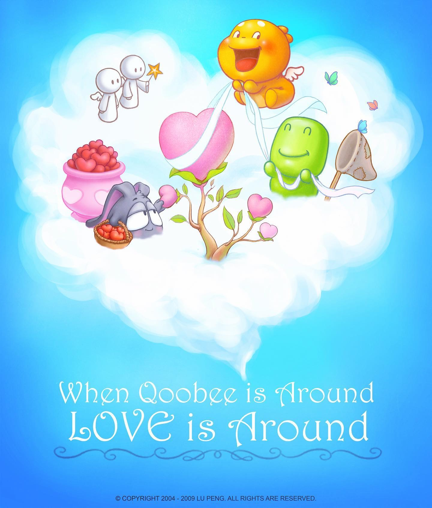 QOOBEE & Friends Harvesting Hearts