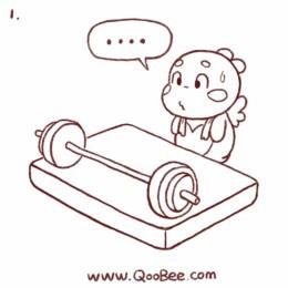QooBee日常漫画19052019