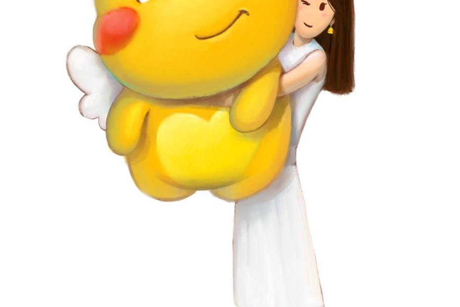 Qoobee Stuffed Toy illustration
