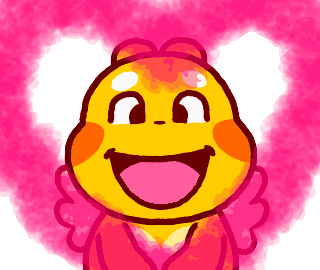 Love Emoji of Qoobee Animated 13