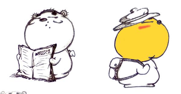 Old QooBee Drawing