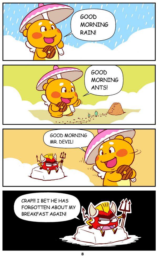 Qoobee Comics 010 – Good Morning!