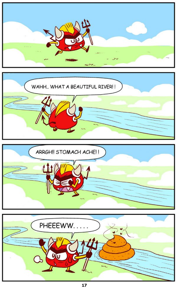Qoobee Comics 019 – Devils Day Out 01
