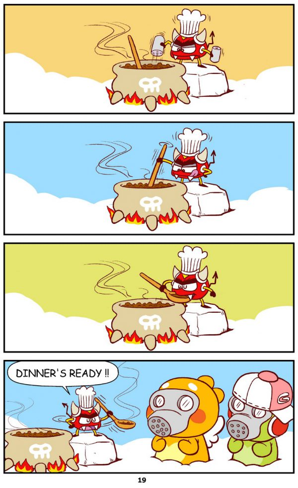 Qoobee Comics 021 – Devil's Soup Recipe