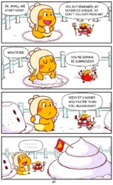 Qoobee Comics 039 – Snow Man 02