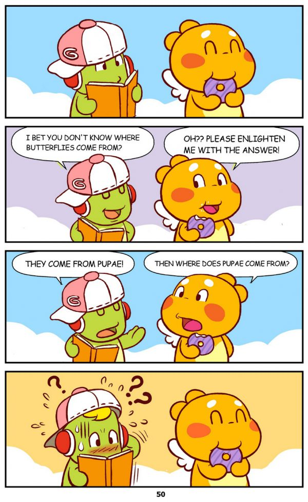 Qoobee Comics 052 – Science Lesson