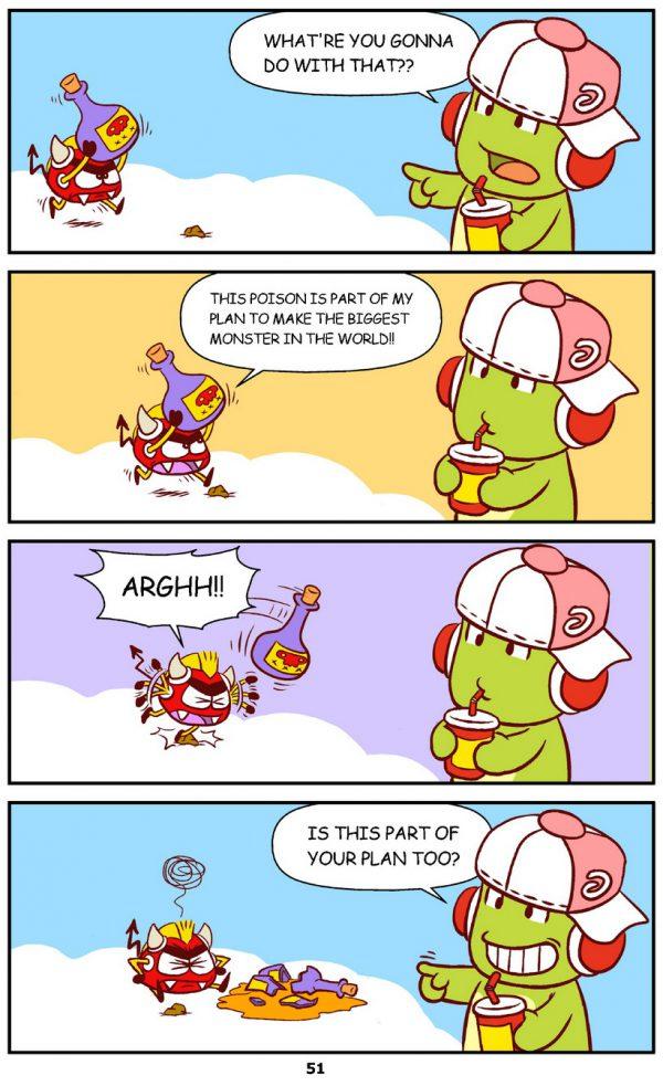 Qoobee Comics 053 – The Plan