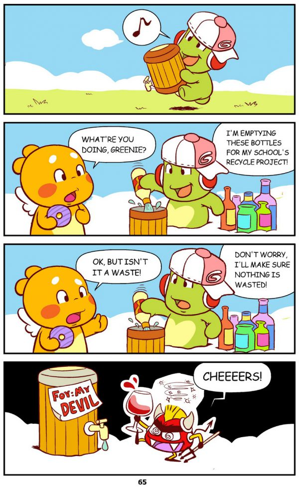 Qoobee Comics 067 – Nothing is Wasted