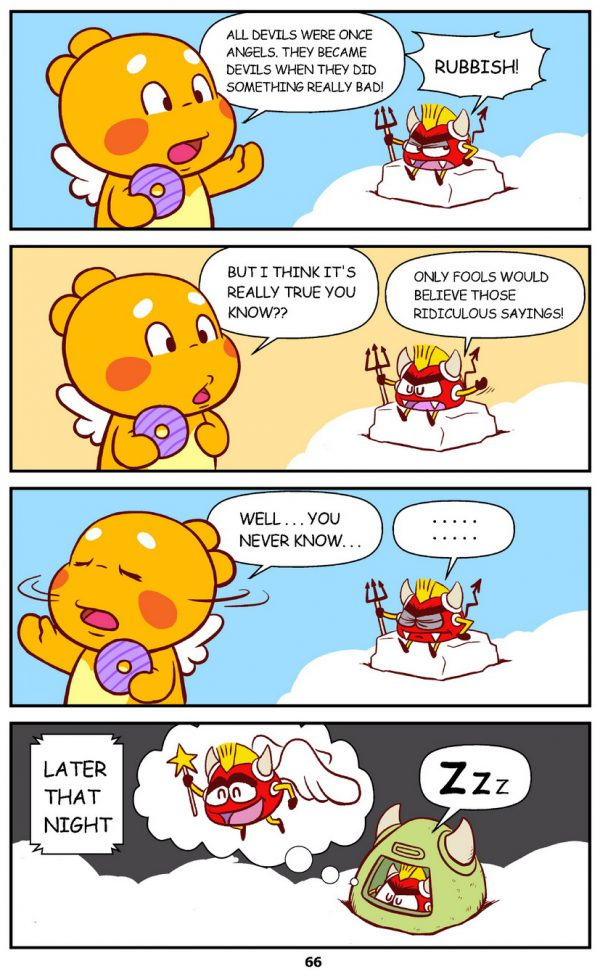 Qoobee Comics 068 – Devils & Angels