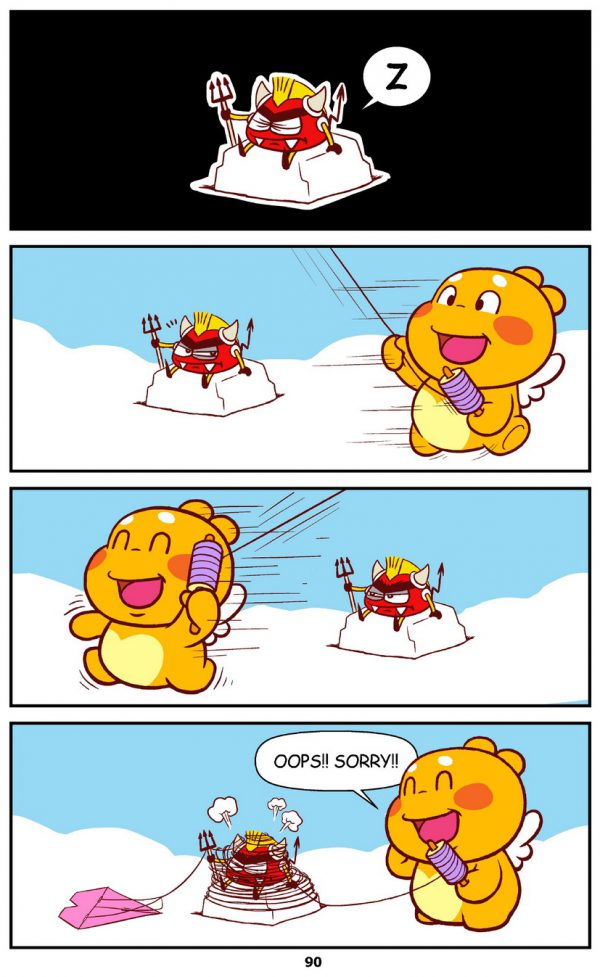 Qoobee Comics 092 – Annoyed Mr Devil 02