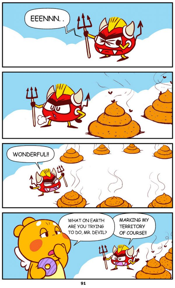 Qoobee Comics 093 – Mr Devil's Big Plan