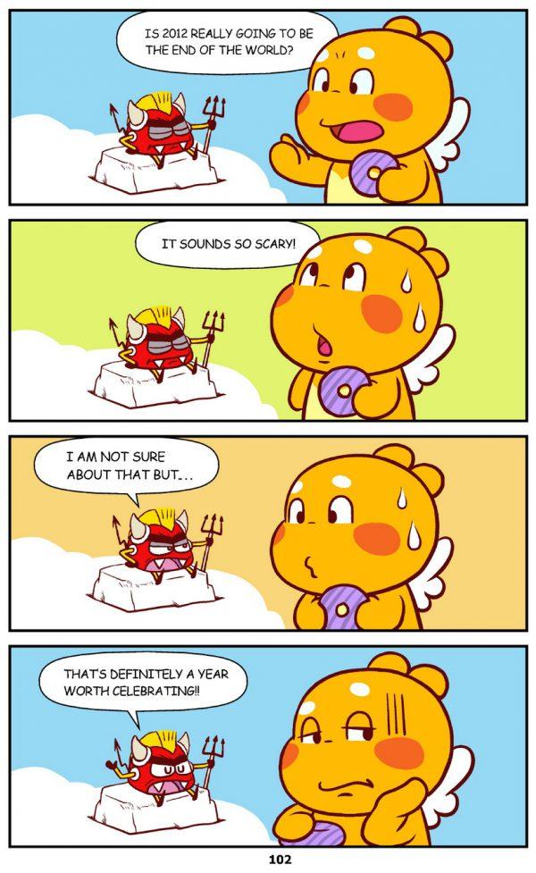 Qoobee Comics 104 – 2012