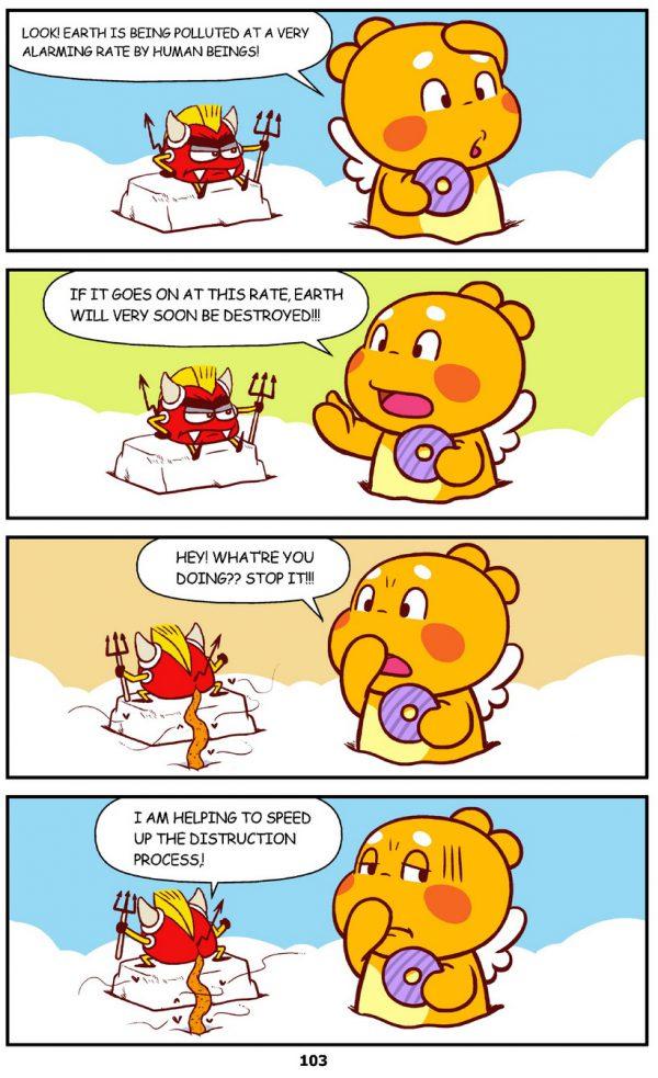 Qoobee Comics 105 – The Pollution