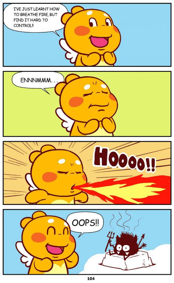 Qoobee Comics 106 – Breathing Fire