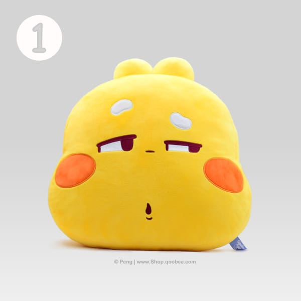 QooBee Hugging Pillow 1 - Mean Look