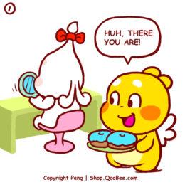 可爱情侣漫画 – QooBee & Jeanie