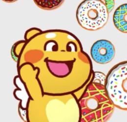 QOOBEE Enjoys Donut Rain