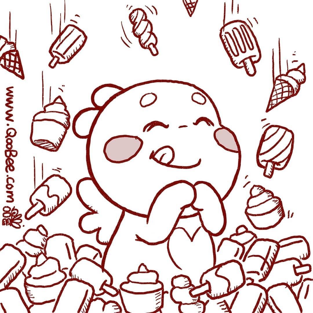 QOOBEE's Ice Cream Shower