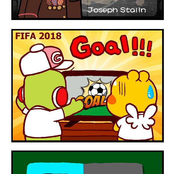 Joseph Stalin Cursed German Team – FIFA World Cup 2018
