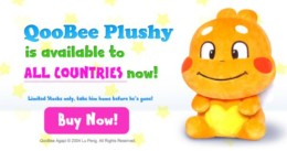 QooBee Plushy Available for Sale