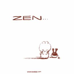 Qoobee and Milky Enjoying Their Quiet Zen Time