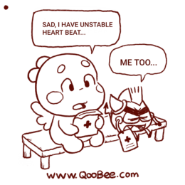 Qoobee' Heart Problem