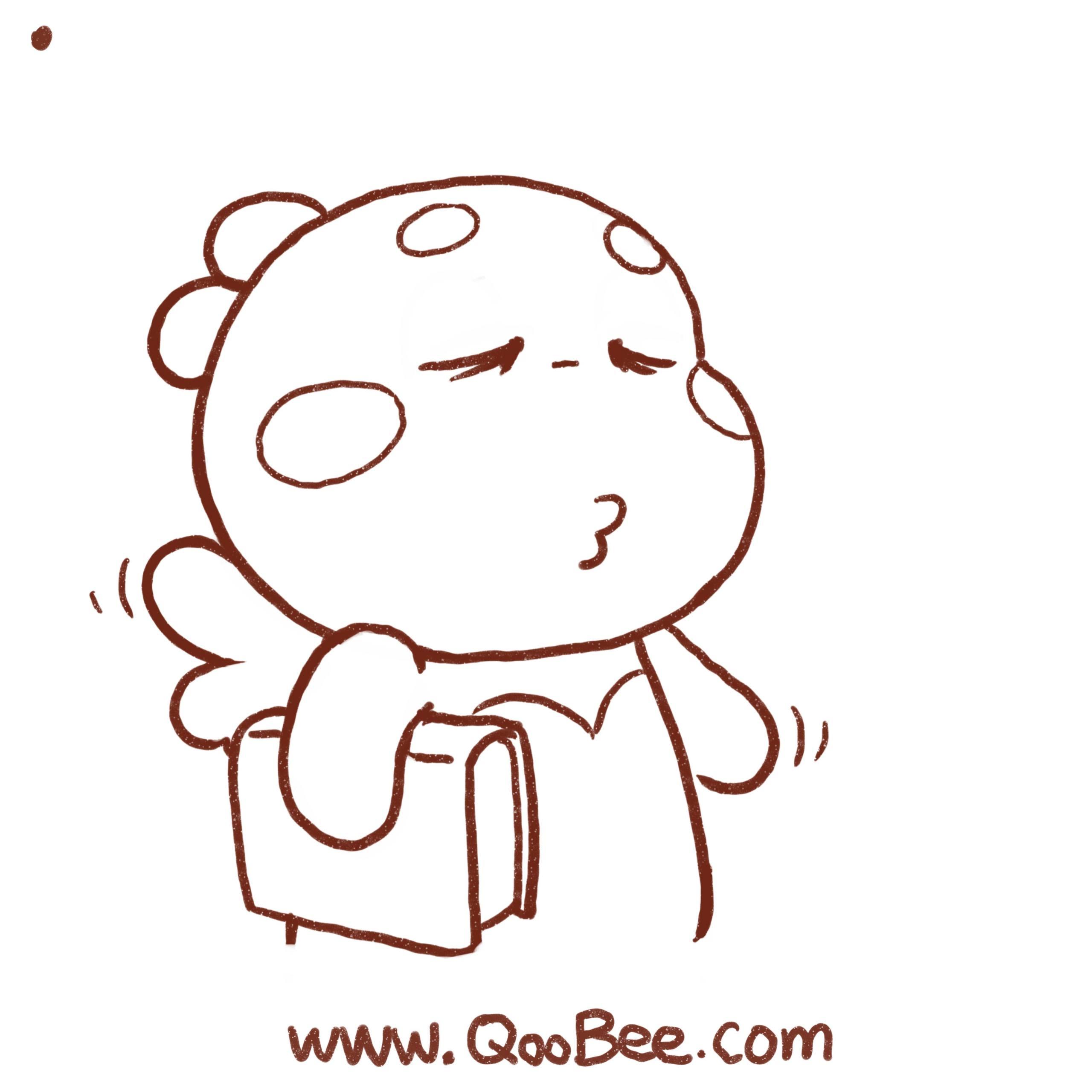 QooBee日常漫画